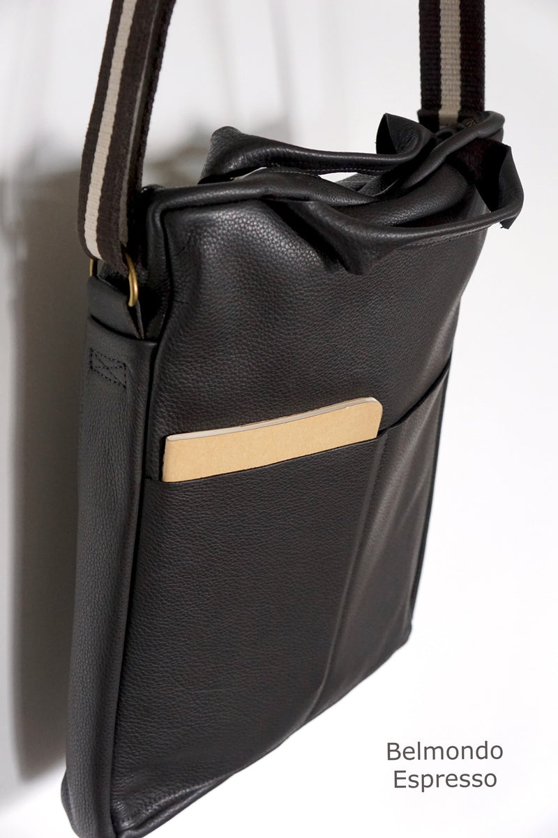 Unisex Computer Messenger Bag - Large or Small - Espresso- Price from