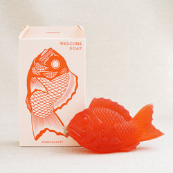 Japanese Fish Welcome Soap - Red