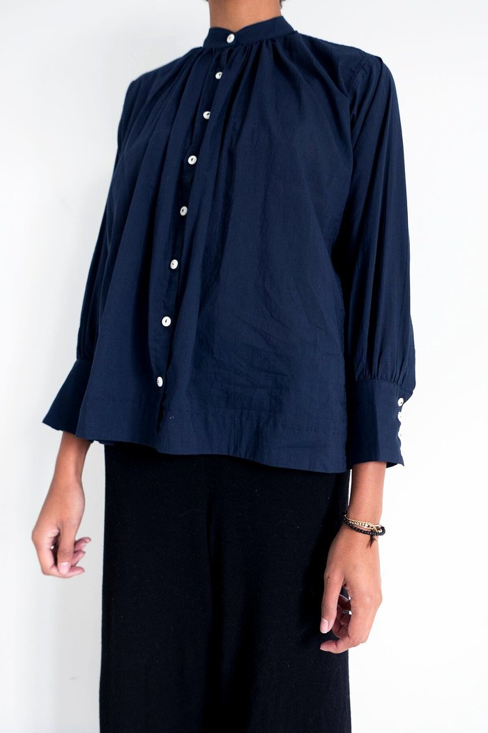 Potter's Blouse - Midnight Blue