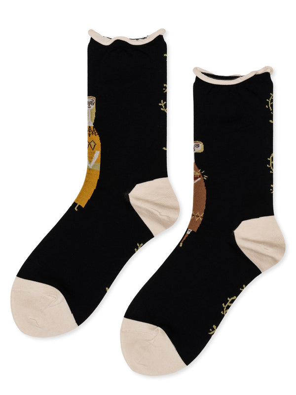 Mr and Mrs Basel Socks