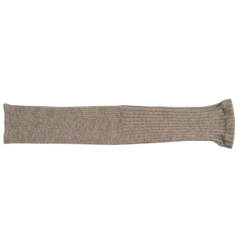 Alpaca and Wool arm warmers by Hakne, Japan. Nishiguchi Kutsushita.