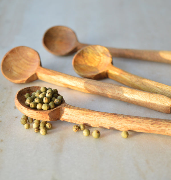 Small mango wood spoon