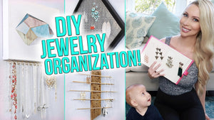 This week I am showing you some awesome DIY & BUY jewelry organization ideas! The first 100 viewers who sign up for Rocksbox will get their first month free ...