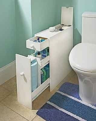 Photos Slim Bathroom Storage Cabinet