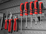 40-Piece Steel Slatwall Accessory Kit