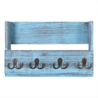Wooden Wall Mount Mail Holder Organizer - Comfify