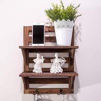 Comfify Rustic Wall Mounted Shelves