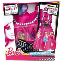Barbie Dress & Store Doll And Accessory Organizer