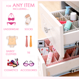 Free Combination Adjustable Drawer Organizer (Set of 4) 01