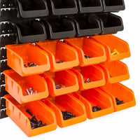 44-Piece Wall Mounted Garage Storage Organizer