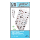 80 Pocket Hanging Jewelry Organizer