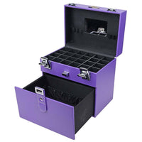 Color Matters - Nail Accessories Organizer and Makeup Train Case