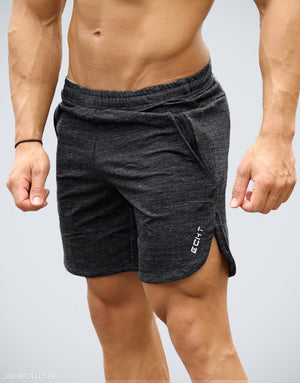Casual Building Plain Shorts - yatacity