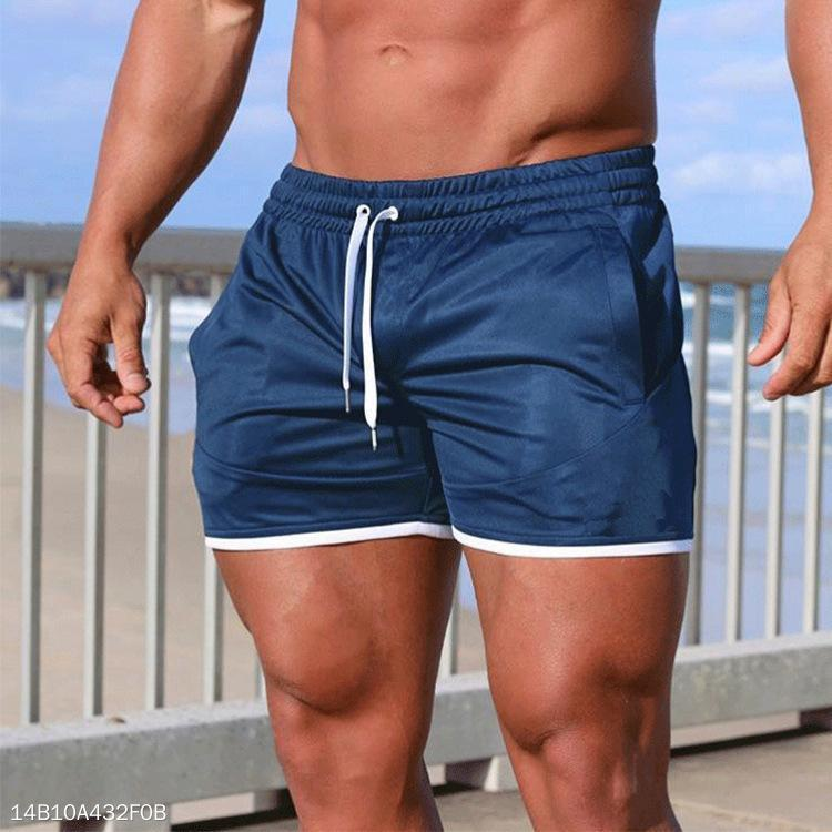 Casual Loose Plain Beach Shorts - yatacity