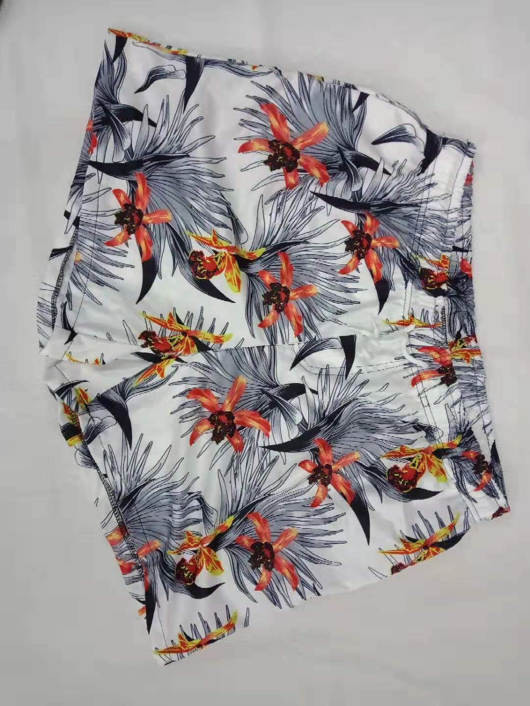 Summer Beach Printed Loose Quick Dry Casual Short Pants - yatacity