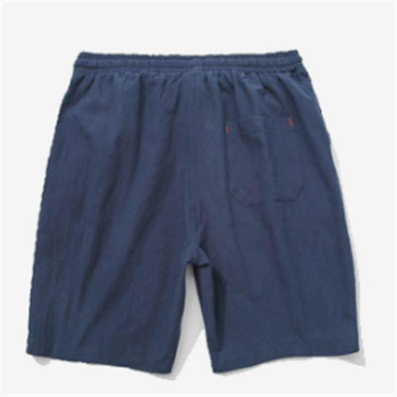 Fashion Japanese Solid Color Casual Shorts - yatacity