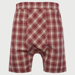 Fashion Casual Elastic Plaid Check Loose Shorts - yatacity