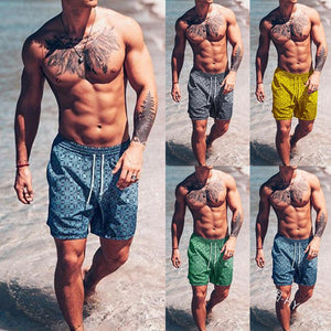 Men's Beach Pants Casual Stretch Shorts - yatacity