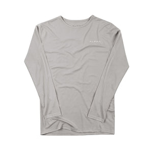 Casual Pure Colour Long Sleeve T-Shirt - yatacity