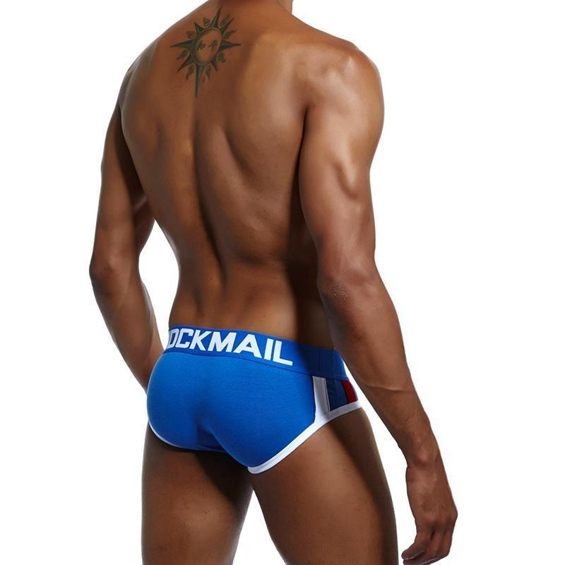 Men's underwear with cup sponge mat triangle briefs - yatacity
