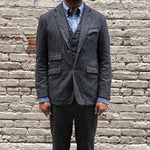 Men's Solid Color Lapel Casual Blazer - yatacity