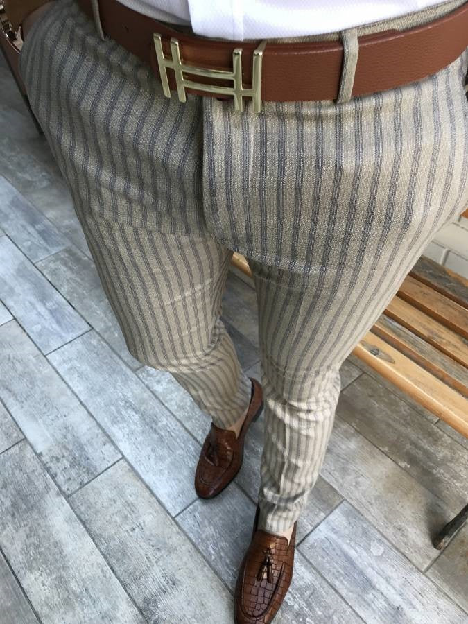 Men's Plaid Casual Pants - yatacity