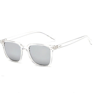 Men's Square Sunglasses Trend Retro Glasses Colorful Fashion Sunglasses Personality Nail Sunglasses - yatacity