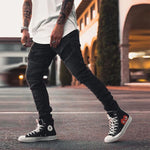 Men's Casual Daily Stitching Pants - yatacity