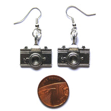Load image into Gallery viewer, Camera Earrings