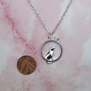 Cat & Mouse Necklace