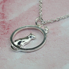 Load image into Gallery viewer, Cat & Mouse Necklace