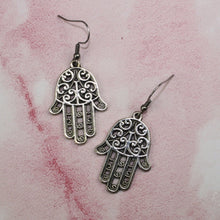 Load image into Gallery viewer, Hamsa Earrings