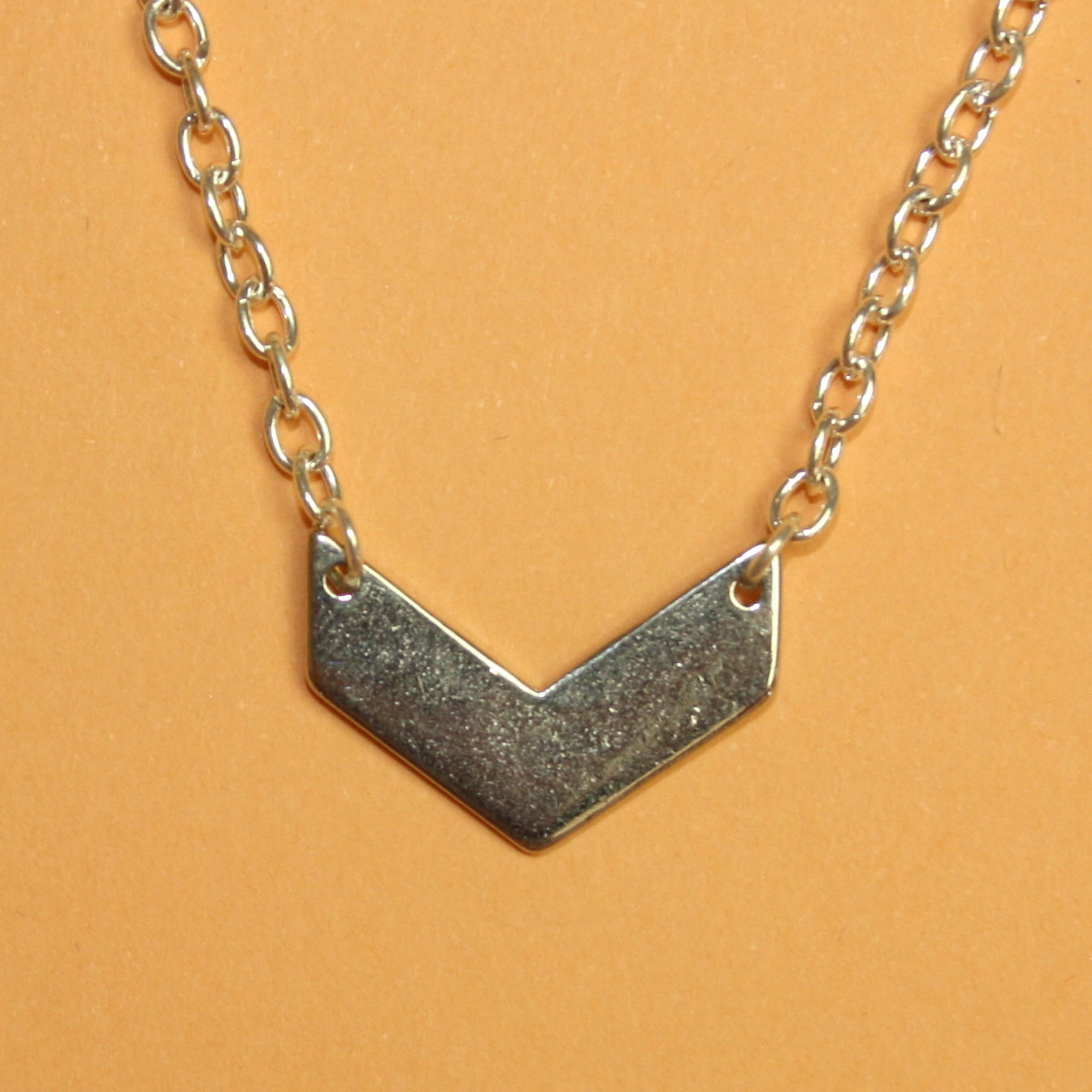 Silver Arrow Necklace