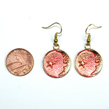 Load image into Gallery viewer, Once In A Pink Moon Earrings