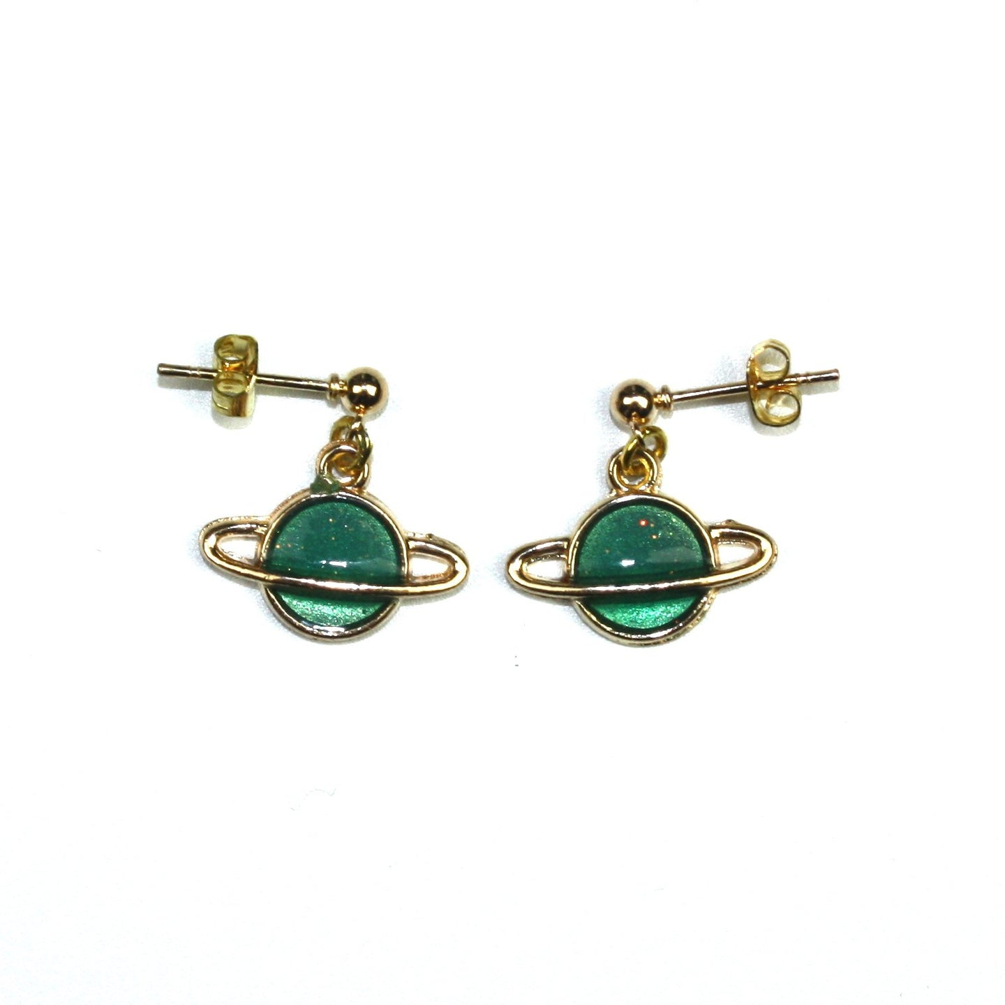 Green Planet Earrings