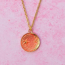 Load image into Gallery viewer, Once In A Pink Moon Necklace