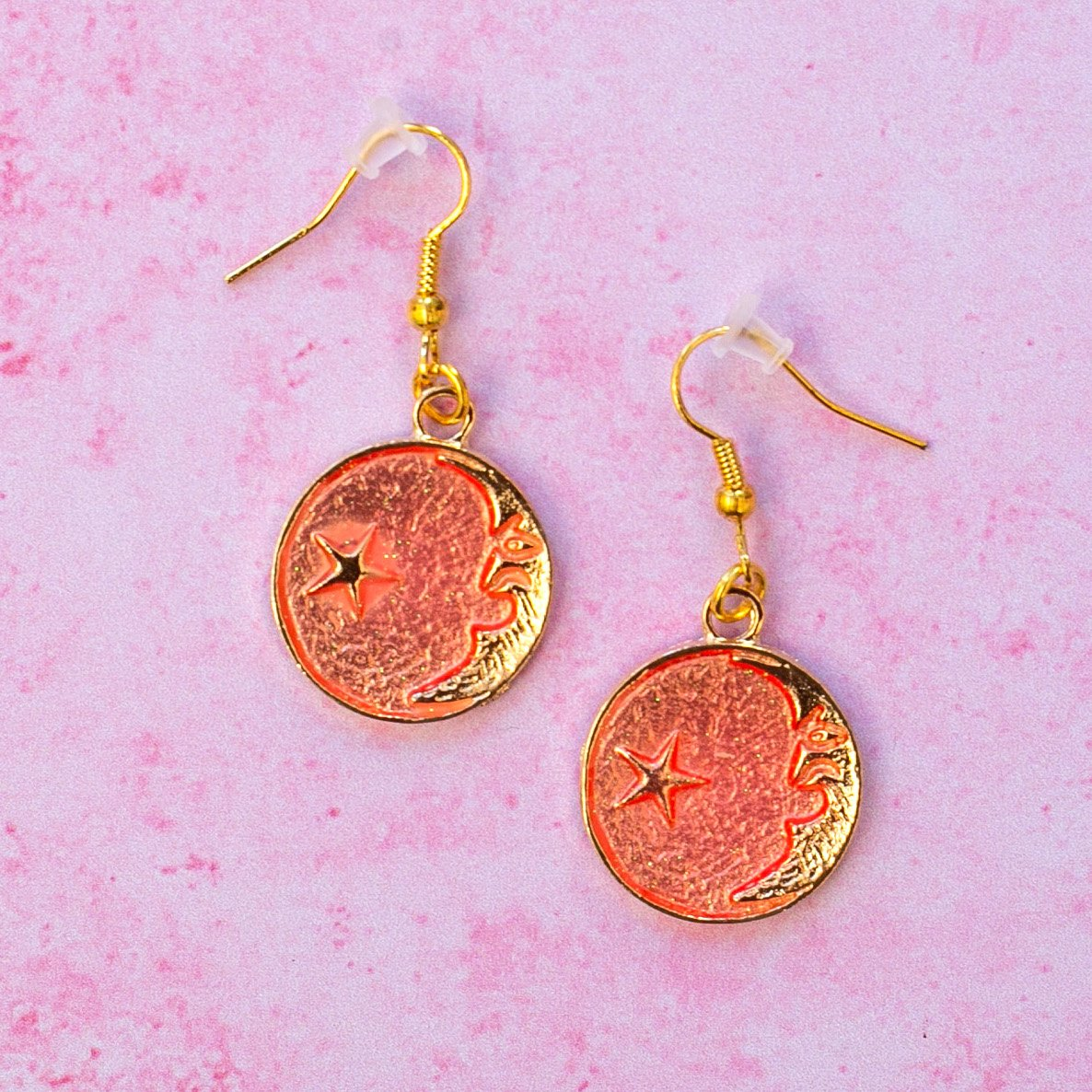 Once In A Pink Moon Earrings