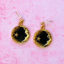 Load image into Gallery viewer, Once In A Black Moon Earrings