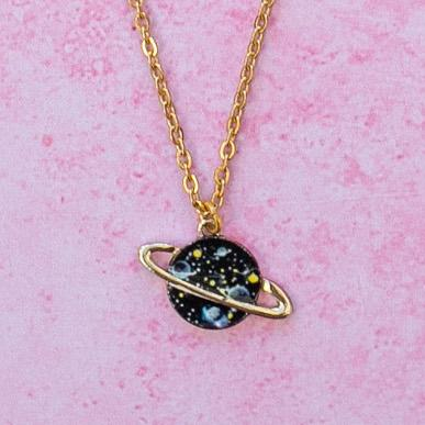Black Galaxy Necklace
