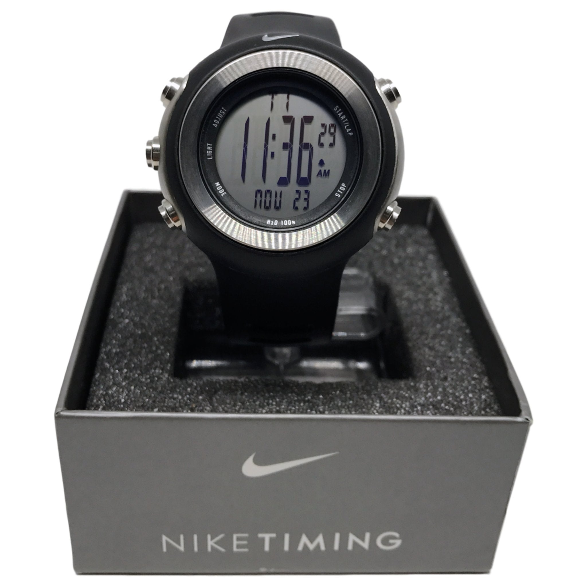 Anual Evolucionar Accesible  Nike Oregon Series Digital Super Watch WA0024-001 | Rare Find | - Elevn:59