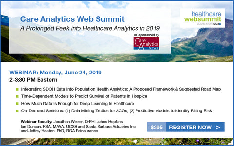 2019 Care Analytics Web Summit Video and Package