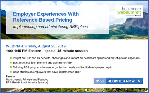 Webinar: Employer Experiences With Reference Based Pricing
