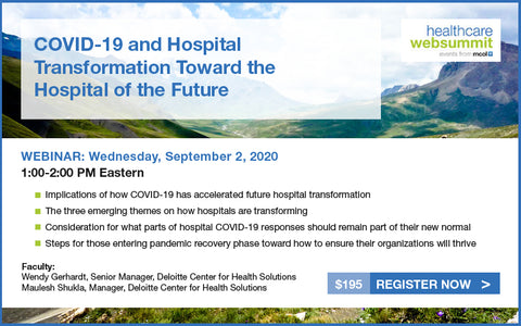 Webinar: COVID-19 and Hospital Transformation Toward the Hospital of the Future