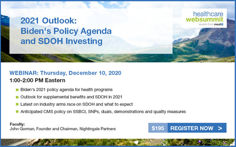 Webinar: 2021 Outlook: Biden's Policy Agenda and SDOH Investing
