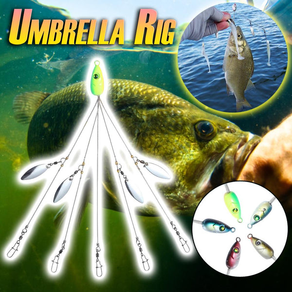 Umbrella Rig Fishing Lure