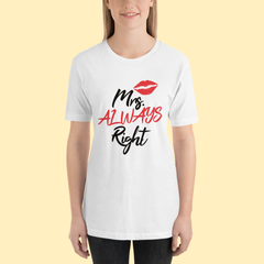 Mrs. Right Short-Sleeve T-Shirt
