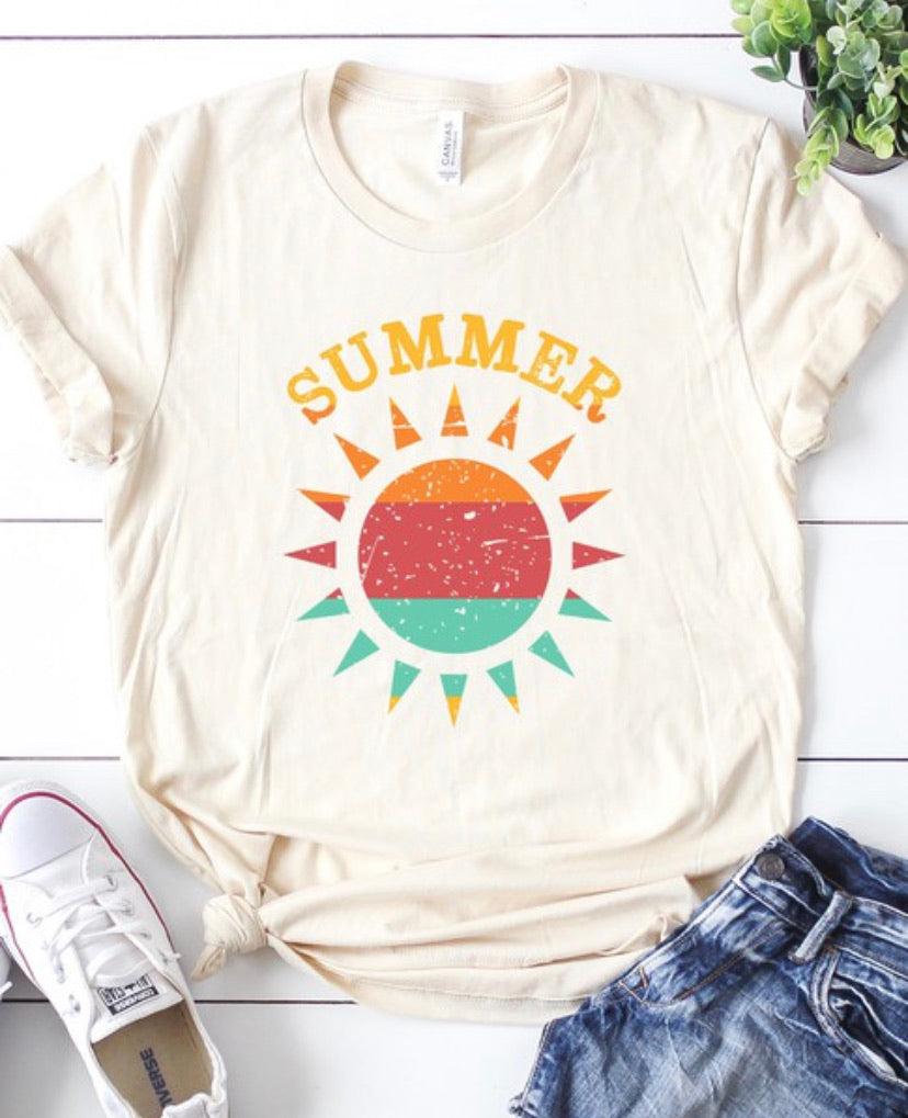 Summer Tee in Cream
