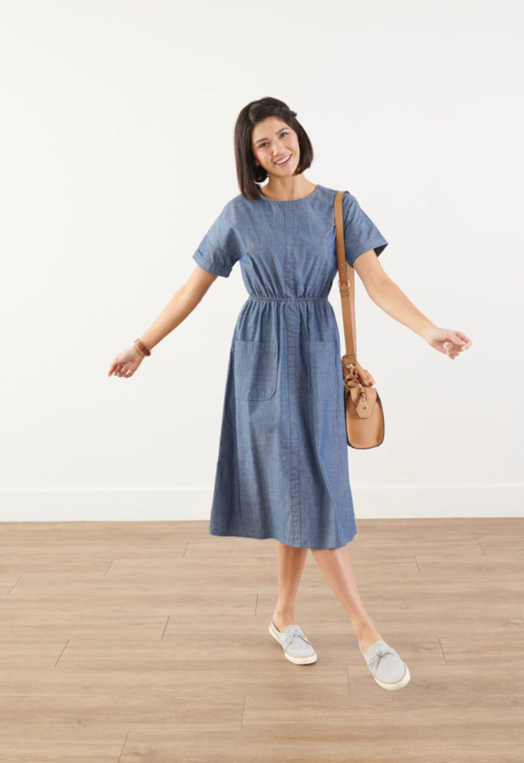 Pre-Order Denim Dress