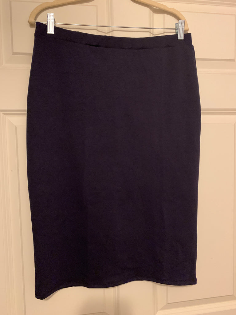Navy Pencil Skirts