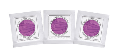 Buy Online Pack of 3 Freeze-dried Culture Sachets for Pure Acidophilus Yogurt (3)